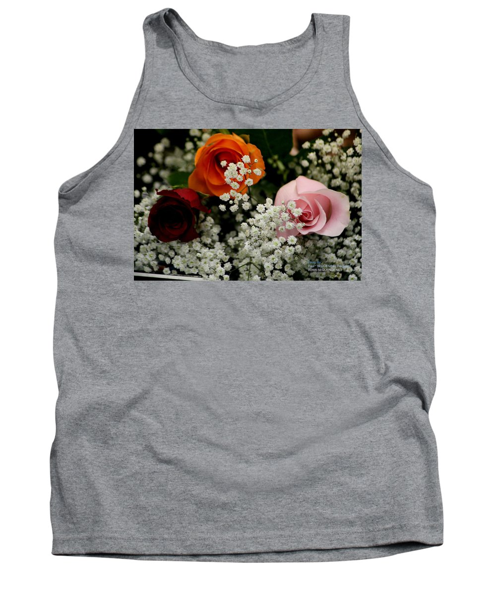 Rose Tank Top featuring the photograph A Rose To You by Paul SEQUENCE Ferguson       sequence dot net