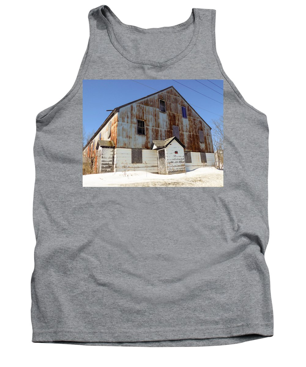Abandoned Tank Top featuring the photograph Abandoned Storage by William Tasker
