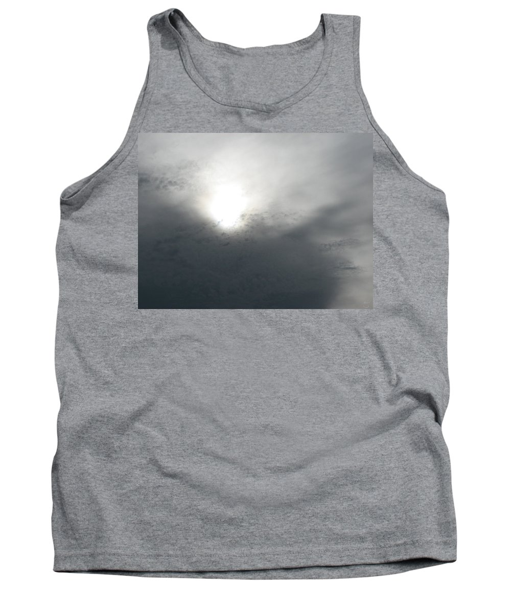 Clouds Tank Top featuring the photograph Above by Stacey May