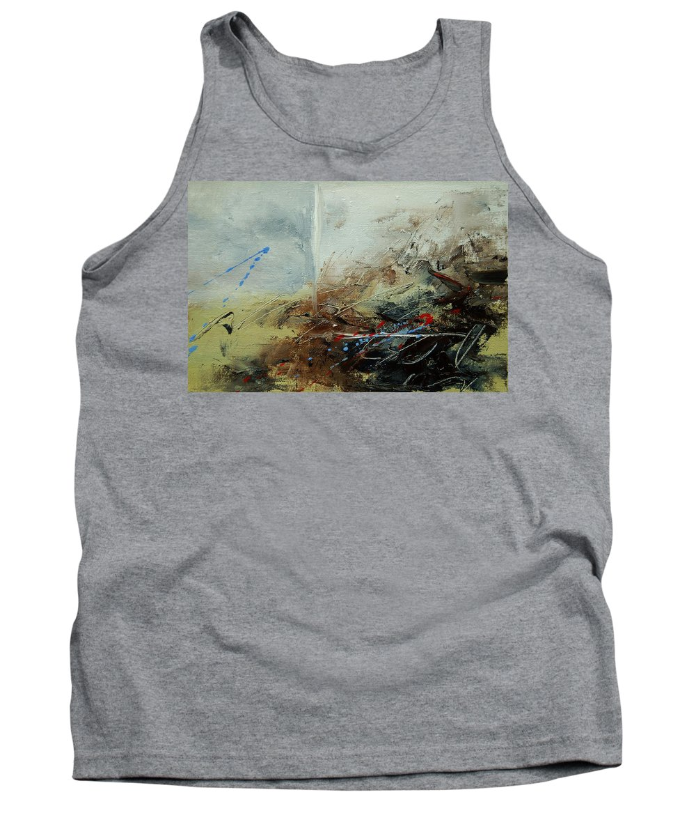 Abstract Tank Top featuring the print Abstract 070408 by Pol Ledent