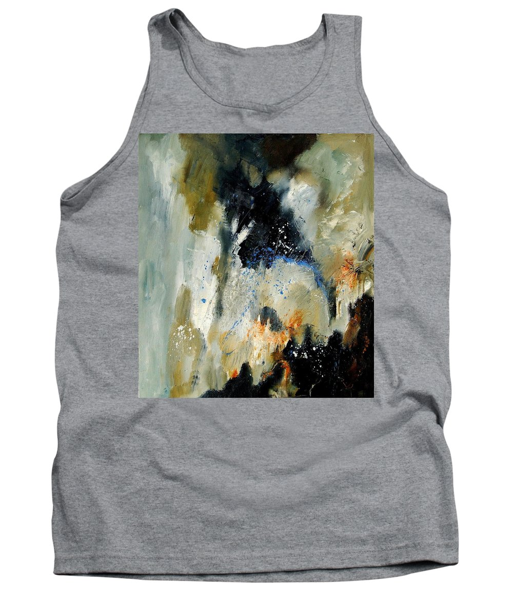 Abstarct Tank Top featuring the painting Abstract 070808 by Pol Ledent