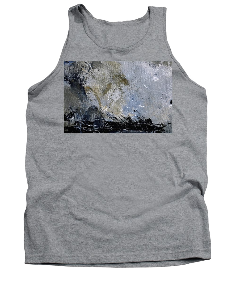 Abstract Tank Top featuring the painting Abstract 135 by Pol Ledent