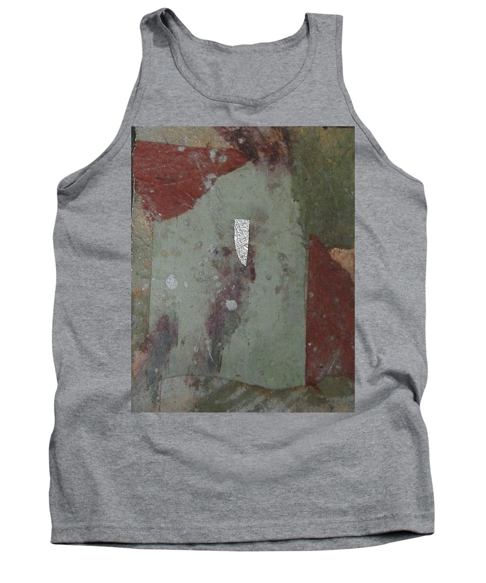 Tank Top featuring the mixed media Abstract One by Pat Snook