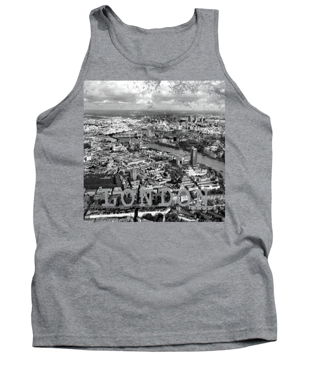 London Skyline Tank Tops