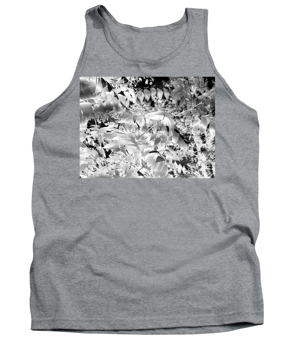 Trees Tank Top featuring the photograph Afternoon Sunlight With Stars by Abstract Angel Artist Stephen K