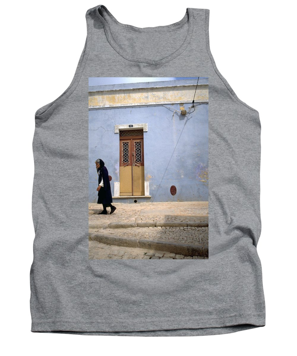 Algarve Tank Top featuring the photograph Algarve II by Flavia Westerwelle