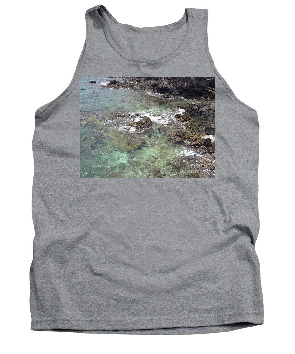 Coki Beach Tank Top featuring the photograph Along Coki Beach by Gina Sullivan