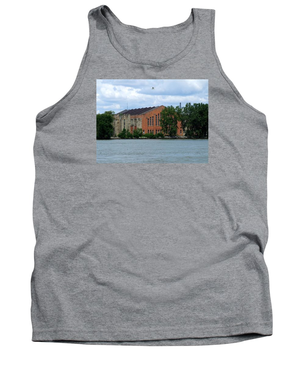 Building Tank Top featuring the photograph Along The Maumee by Michiale Schneider