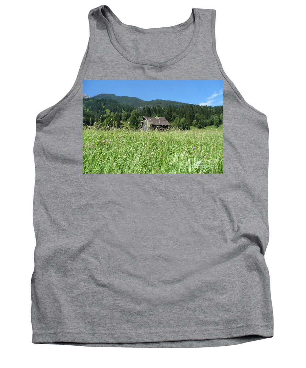 Alpine Tank Top featuring the photograph Alpine Meadow by Carol Groenen