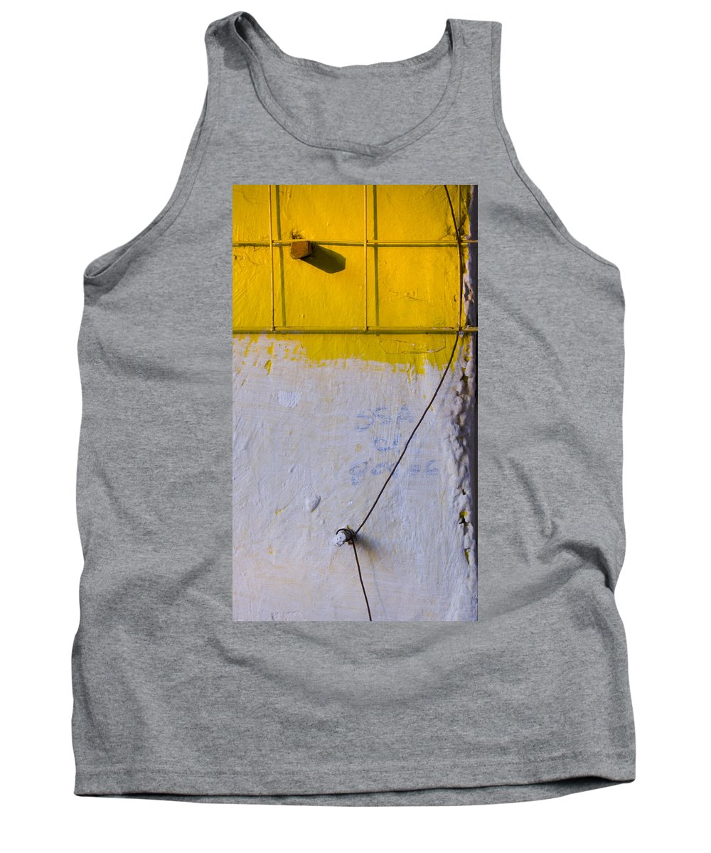 Abstract Tank Top featuring the photograph Amarillo by Skip Hunt
