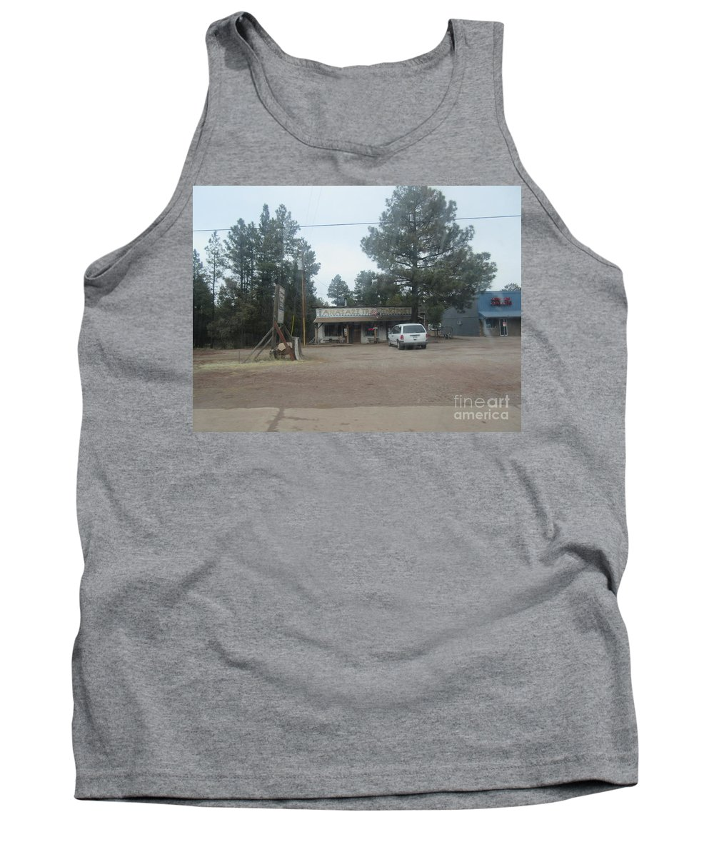 Anasazi Tank Top featuring the photograph Anasazi Trading Post by Frederick Holiday