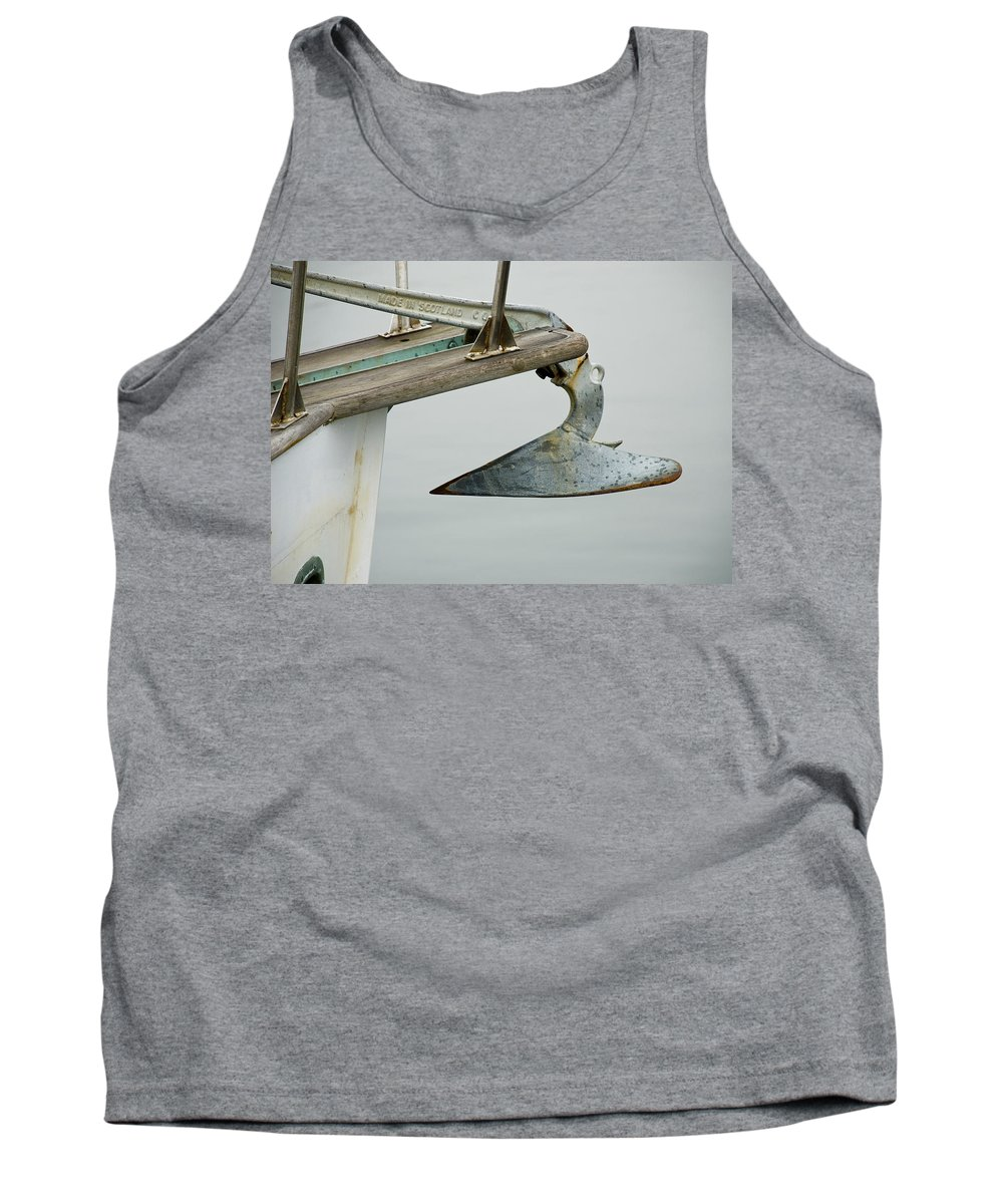 Anchor Tank Top featuring the photograph Anchor by Charles Harden