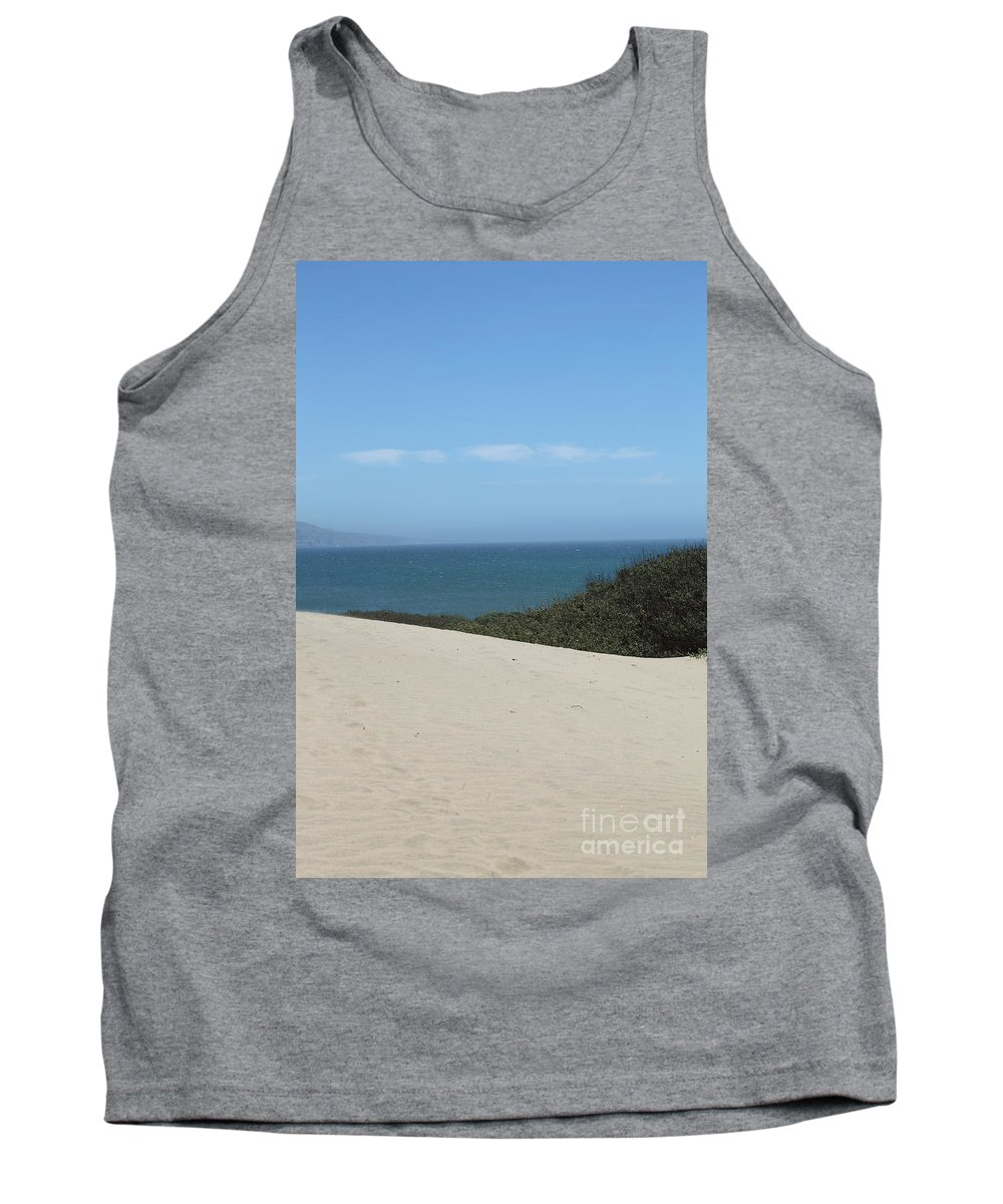 ano Nuevo Tank Top featuring the photograph Ano Neuvo by Amanda Barcon