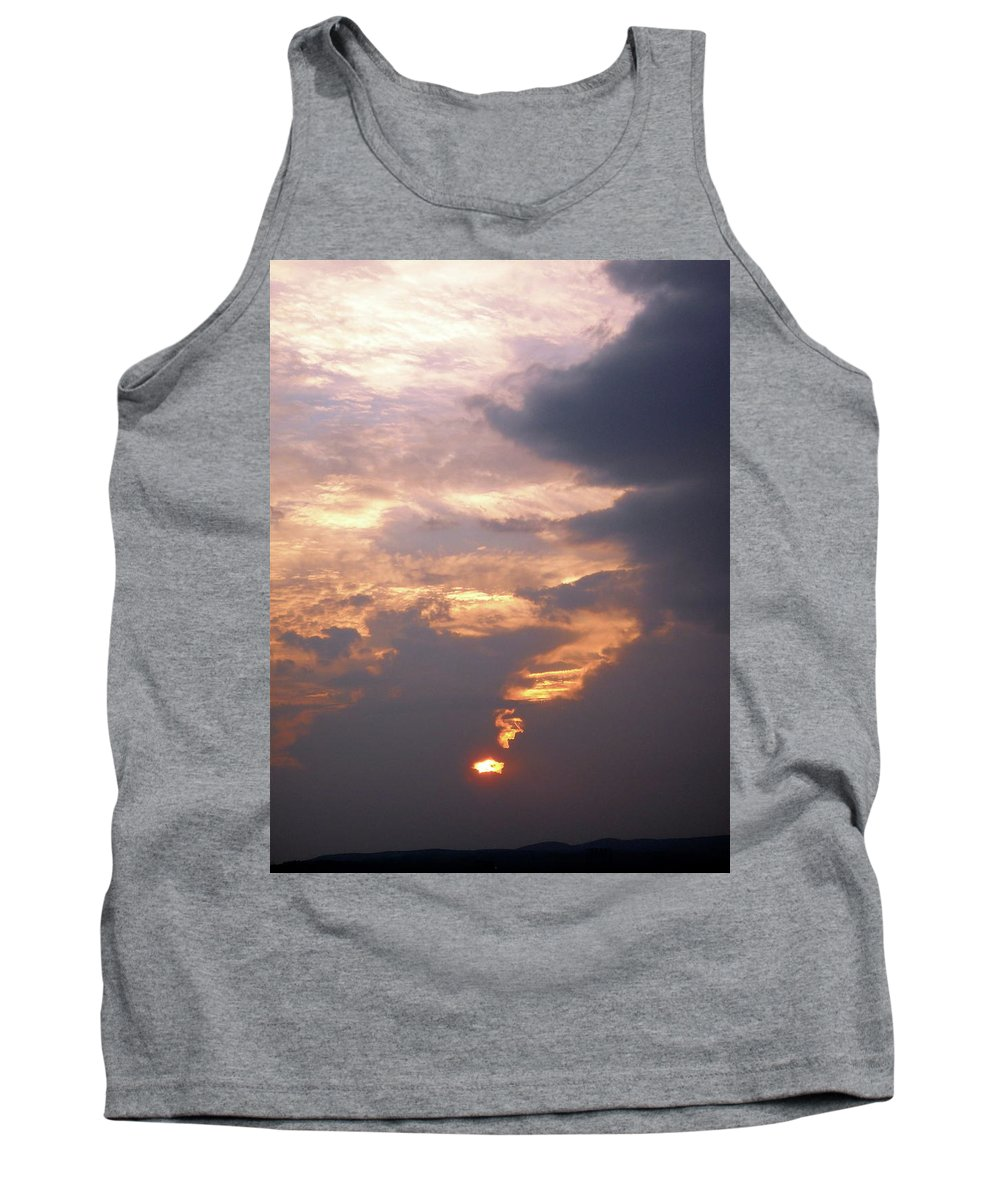 Sunset Tank Top featuring the photograph Another California Sunset by Stephanie Moore