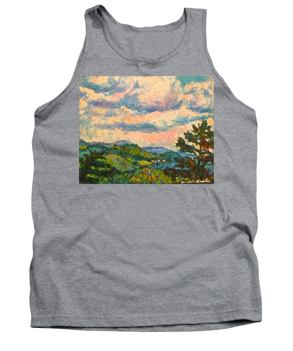 Landscape Paintings Tank Top featuring the painting Another Rocky Knob by Kendall Kessler