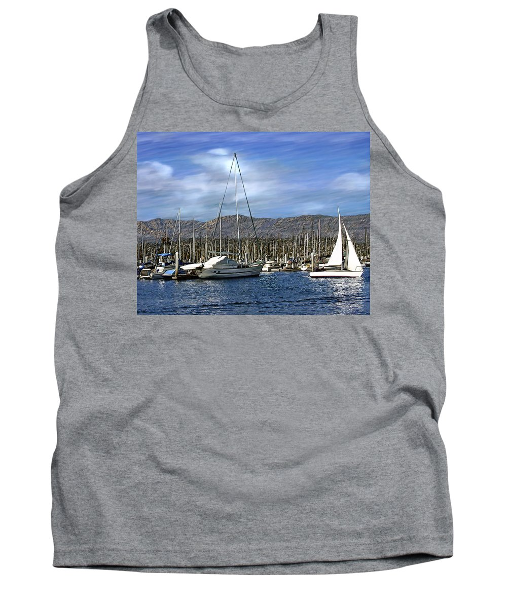 Ocean Tank Top featuring the photograph Another Sunny Day by Kurt Van Wagner