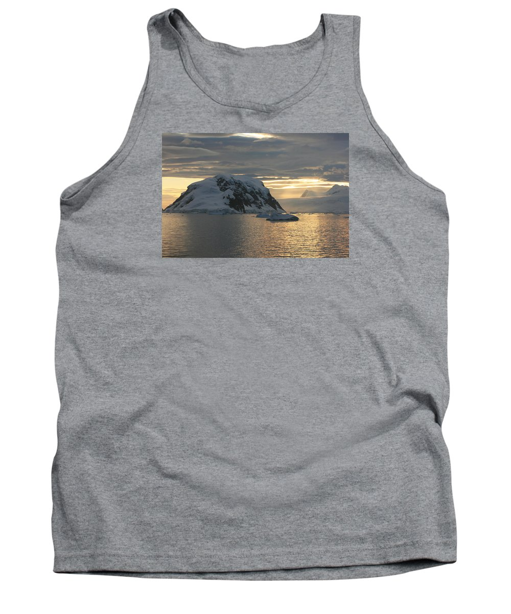 Antarctica Tank Top featuring the photograph Antarctic Coast by Andrew Parker