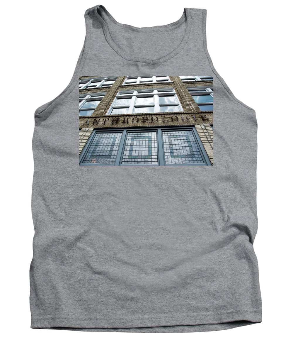 Retail Tank Top featuring the photograph Anthropologie by Ed Waldrop