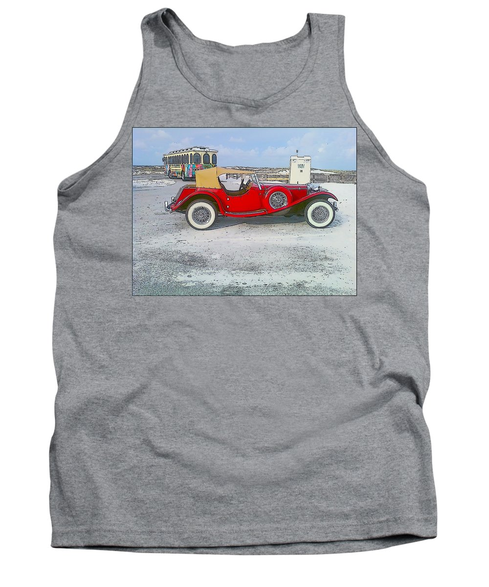 Old Car Tank Top featuring the photograph Antique Car by Michelle Powell