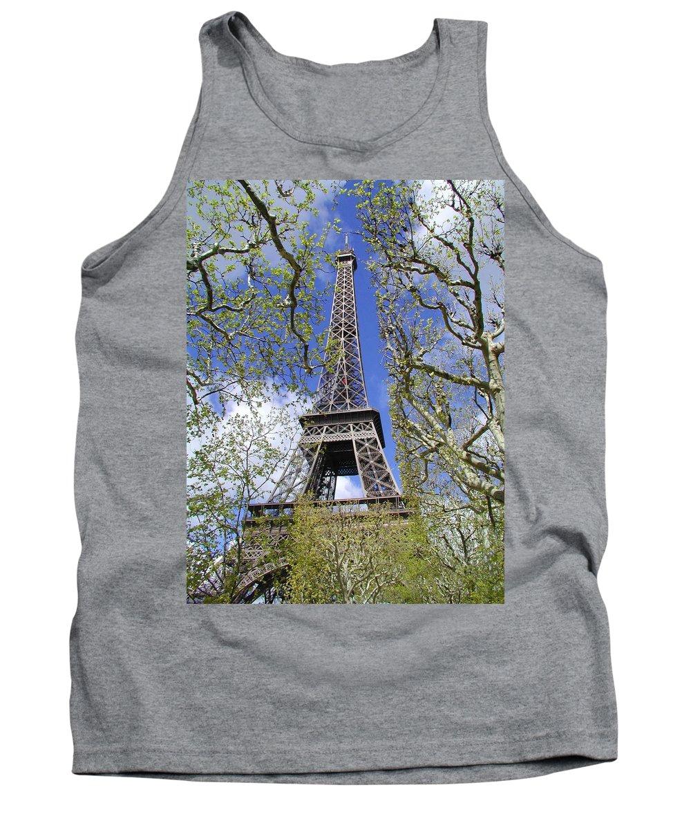 Paris Tank Top featuring the photograph April In Paris by Tom Reynen