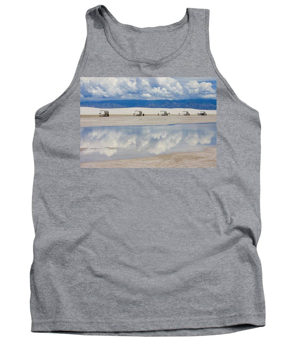 New Mexico Tank Top featuring the photograph Armageddon Picnic by Skip Hunt