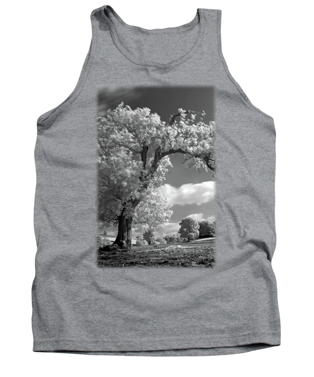Gift+idea Tank Top featuring the photograph Shepton Tree by Jon Delorme
