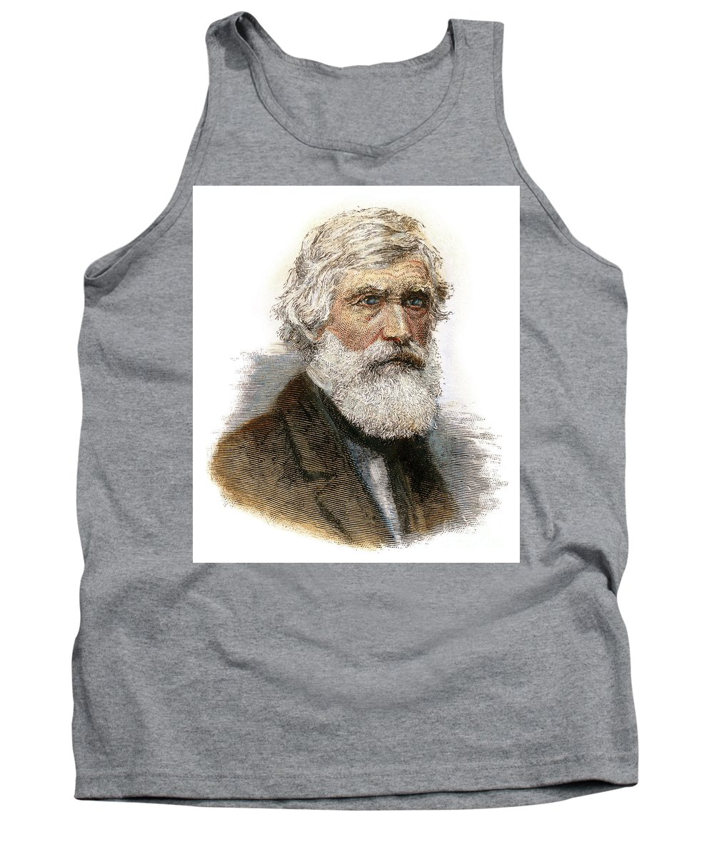 19th Century Tank Top featuring the drawing Asher B. Durand, 1796-1886 by Granger