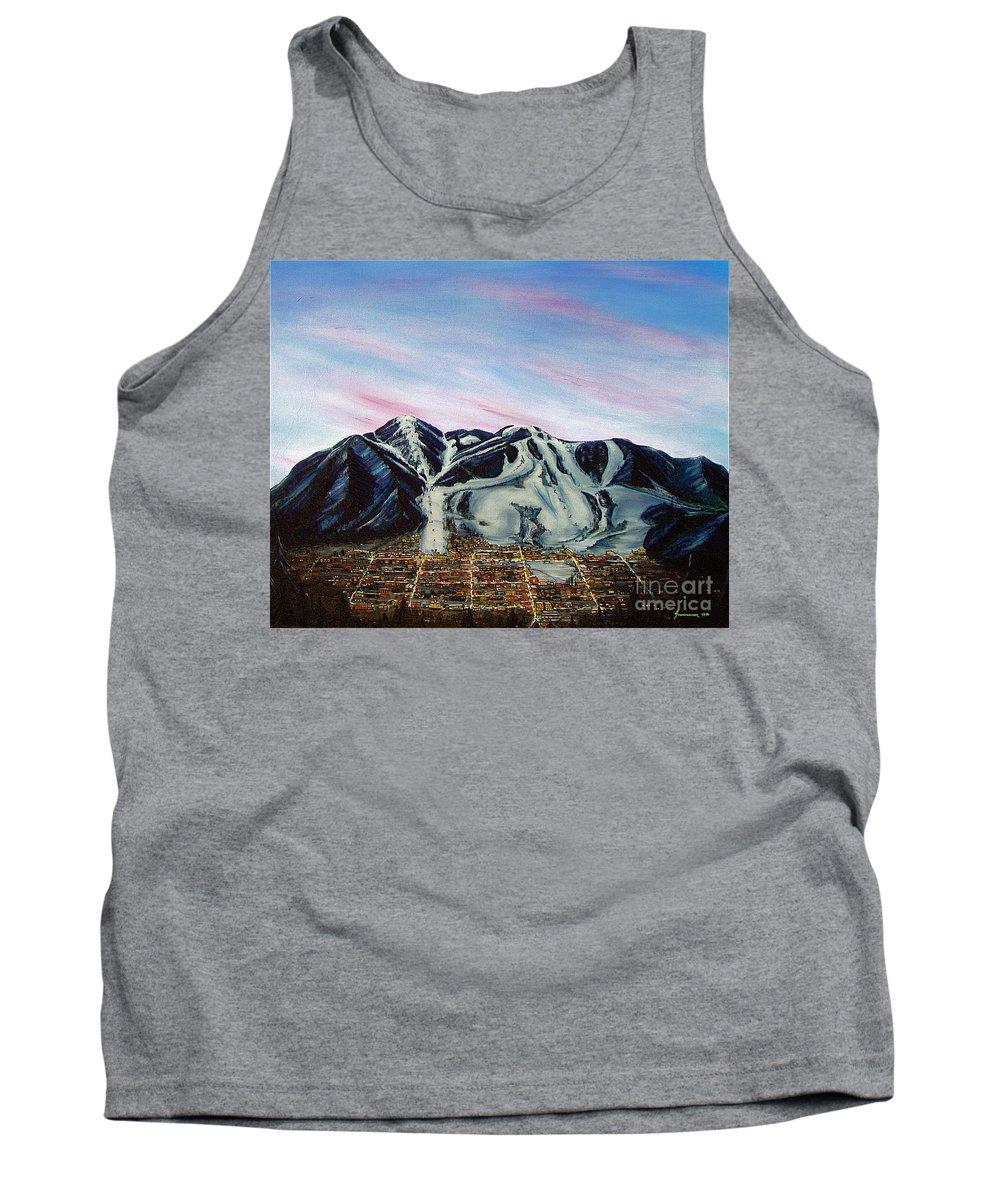 Aspen Tank Top featuring the painting Aspen by Jerome Stumphauzer