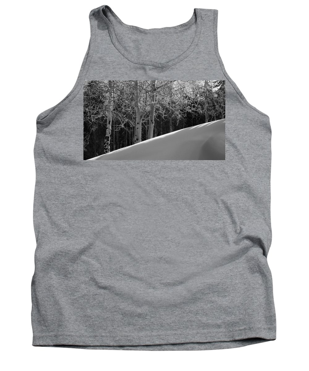 Colorado Tank Top featuring the photograph Aspencade by Skip Hunt