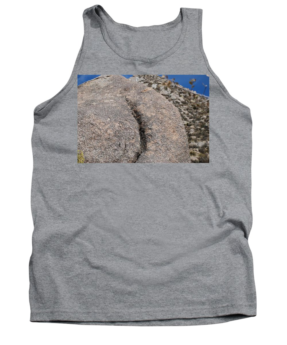 Pop Art Tank Top featuring the photograph Ass Rock New Mexico by Rob Hans
