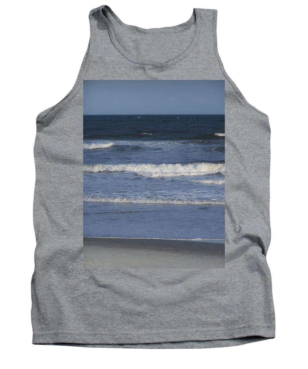 Atlantic Tank Top featuring the photograph Atlantic Ocean Gradient by Teresa Mucha