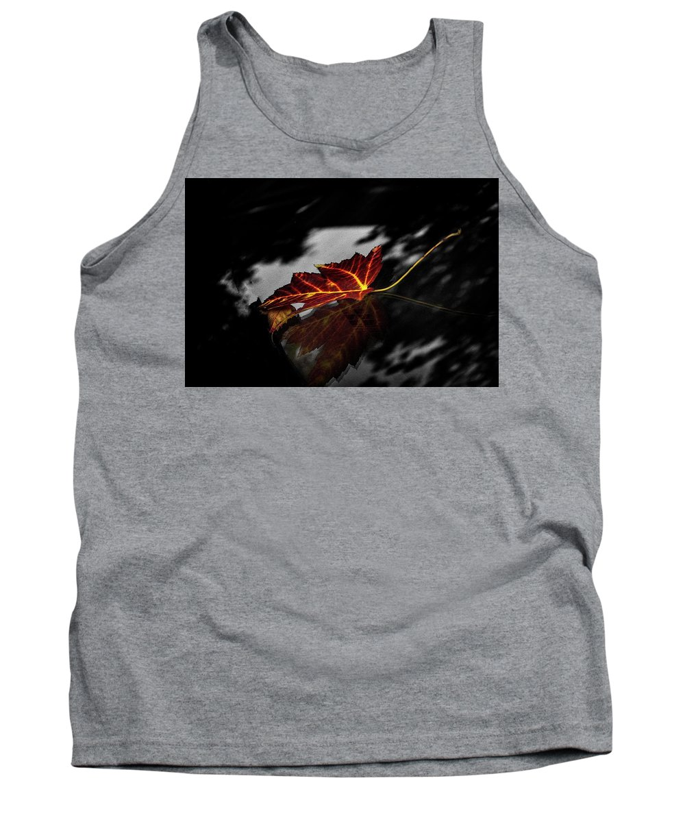 Canada Tank Top featuring the photograph Autumn Leaves... by Lena Monteiro