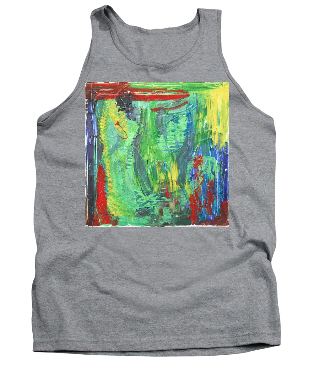 B Beautifull Tank Top featuring the painting B-beautifull by Sitara Bruns