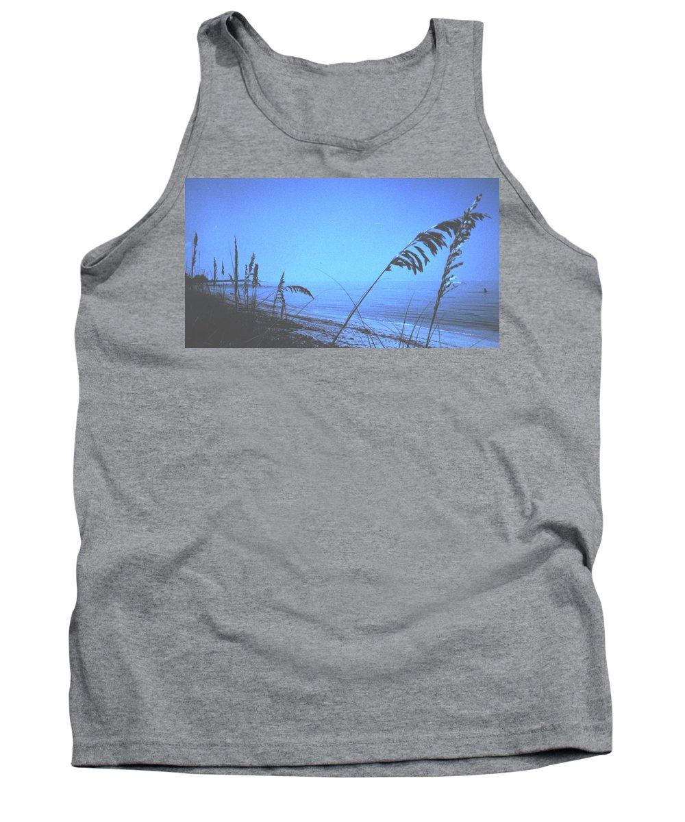 Tank Top featuring the photograph Bahama Blue by Ian MacDonald