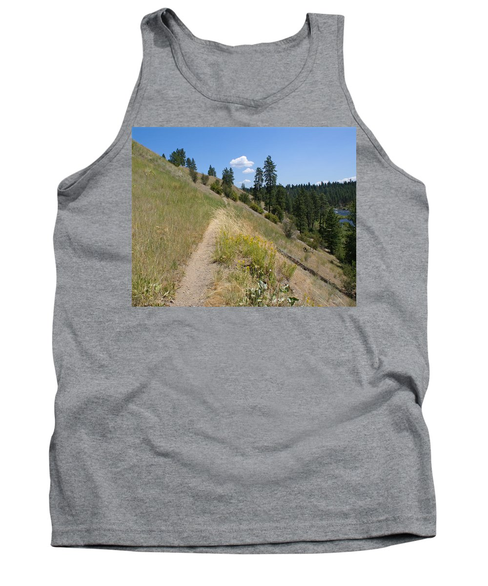 Nature Tank Top featuring the photograph Bakery Hill by Ben Upham III