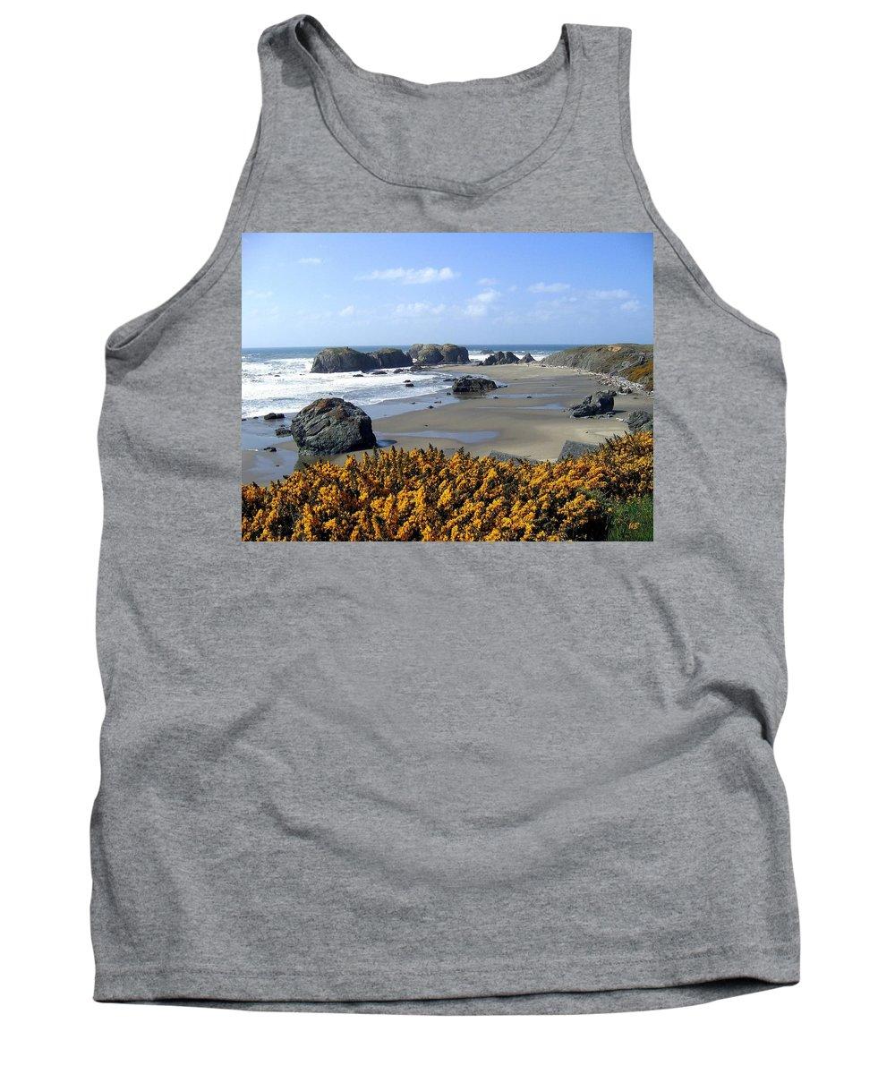 Bandon Tank Top featuring the photograph Bandon 4 by Will Borden