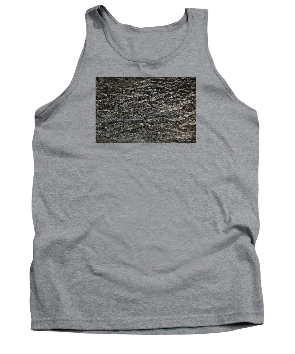 Bark Tank Top featuring the photograph Bark Texture by Nareeta Martin