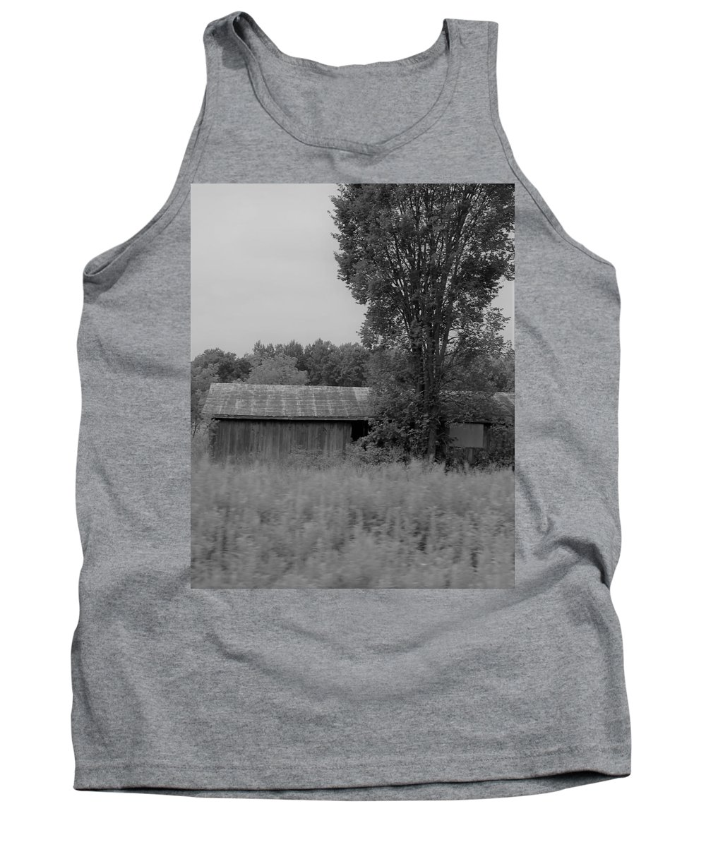 Tank Top featuring the photograph Barn 17 by John Bichler