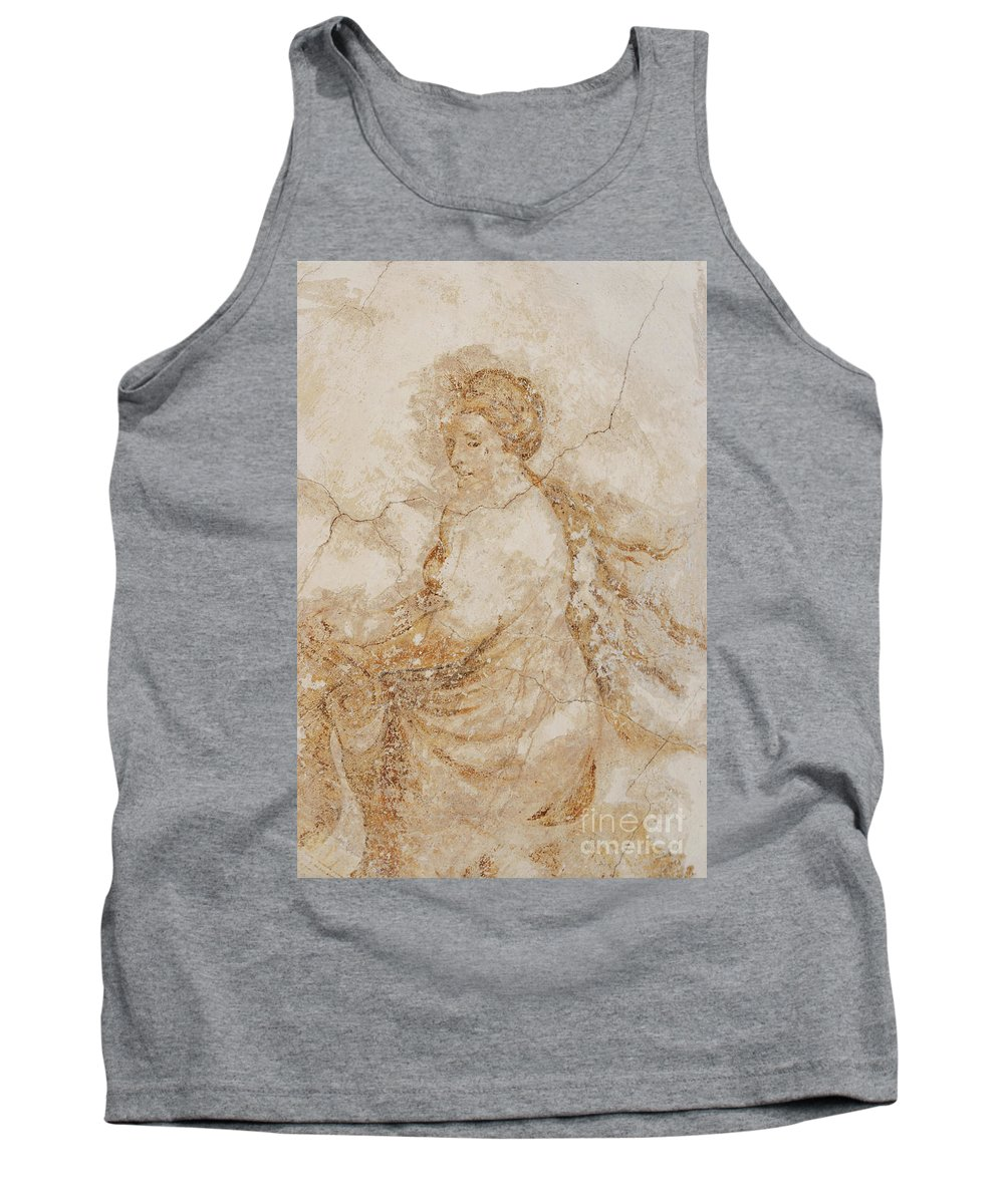 Mural Tank Top featuring the photograph Baroque Mural Painting by Michal Boubin