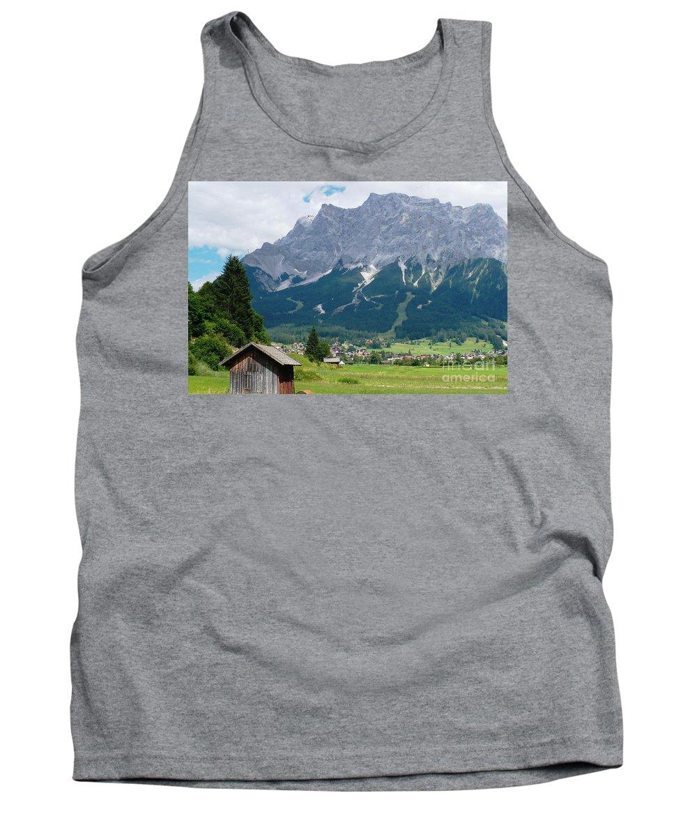 Landscape Tank Top featuring the photograph Bavarian Alps Landscape by Carol Groenen