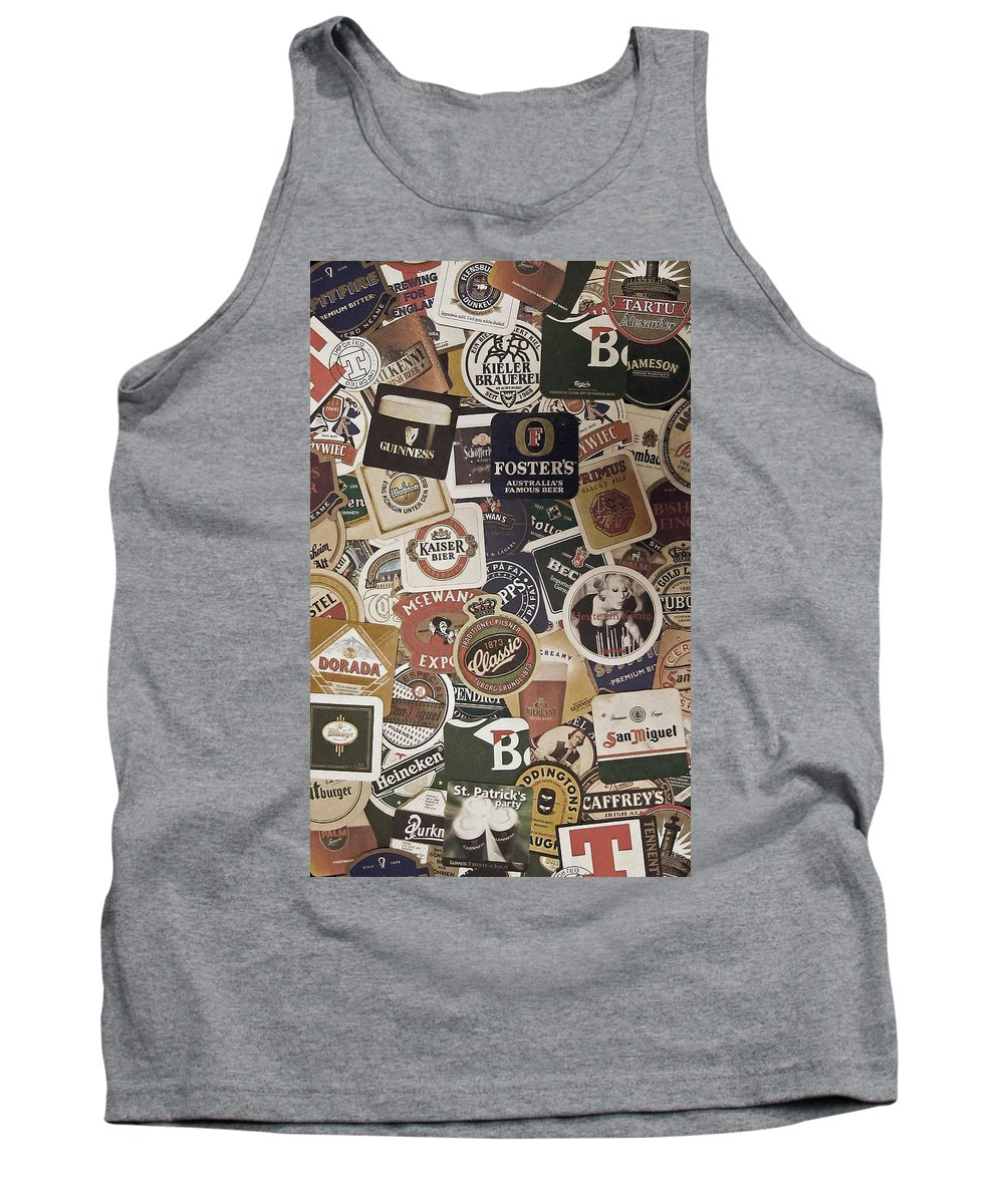 Beer Tank Top featuring the photograph Beers Of The World by Nicklas Gustafsson