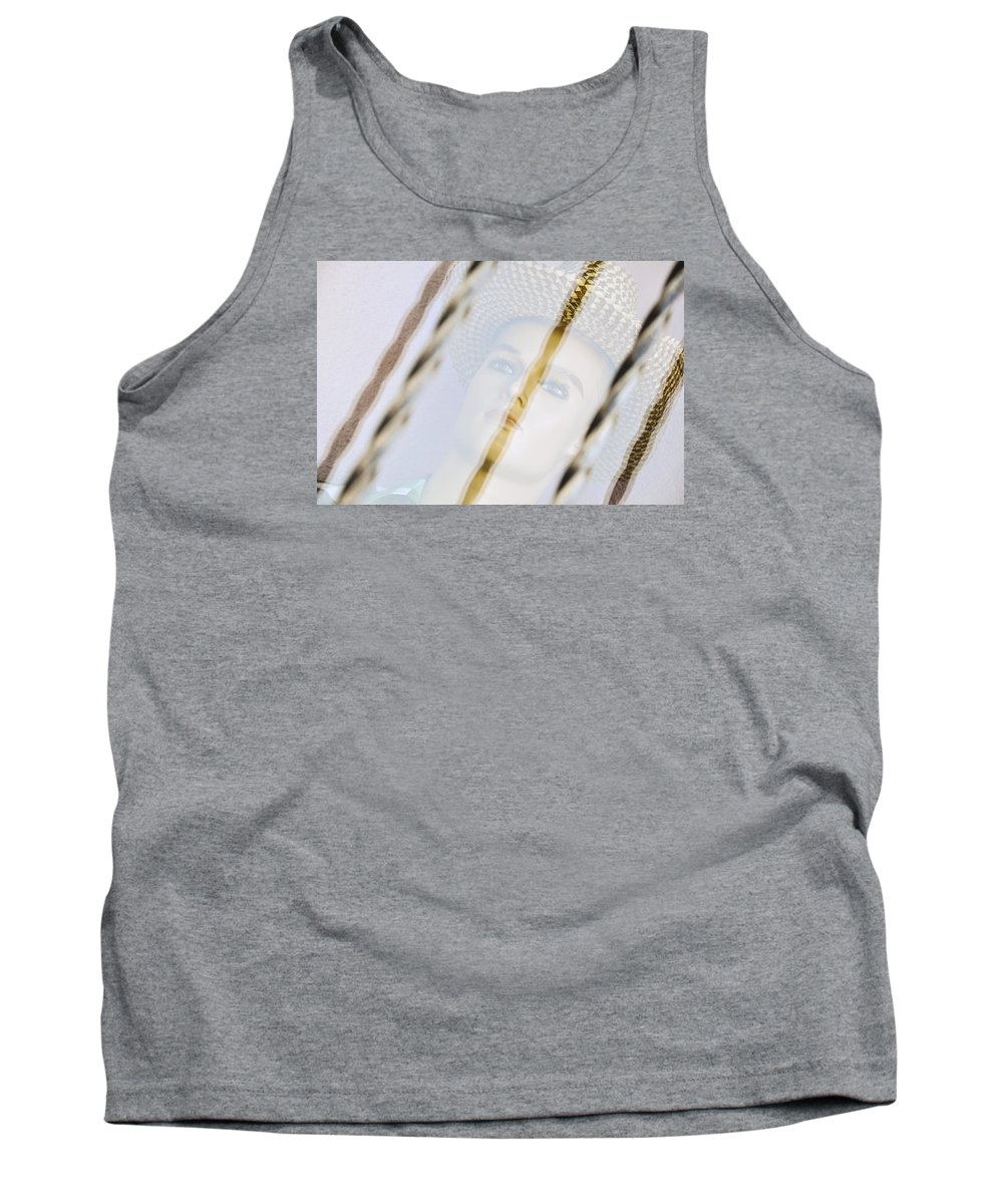 Art Prints Tank Top featuring the photograph Behind The Glass by Adi Baruch