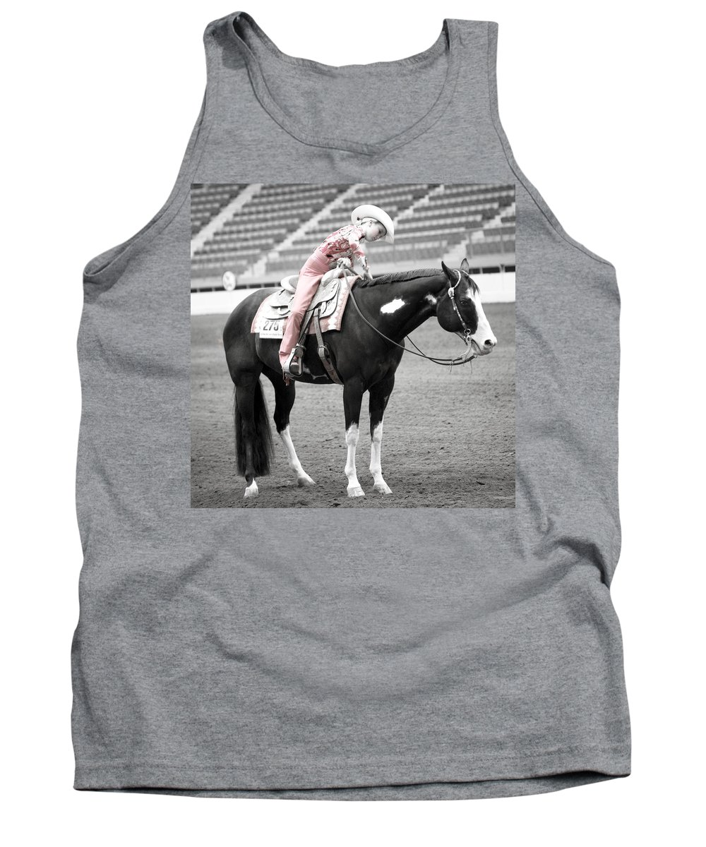 Americana Tank Top featuring the photograph Best Friends by Marilyn Hunt
