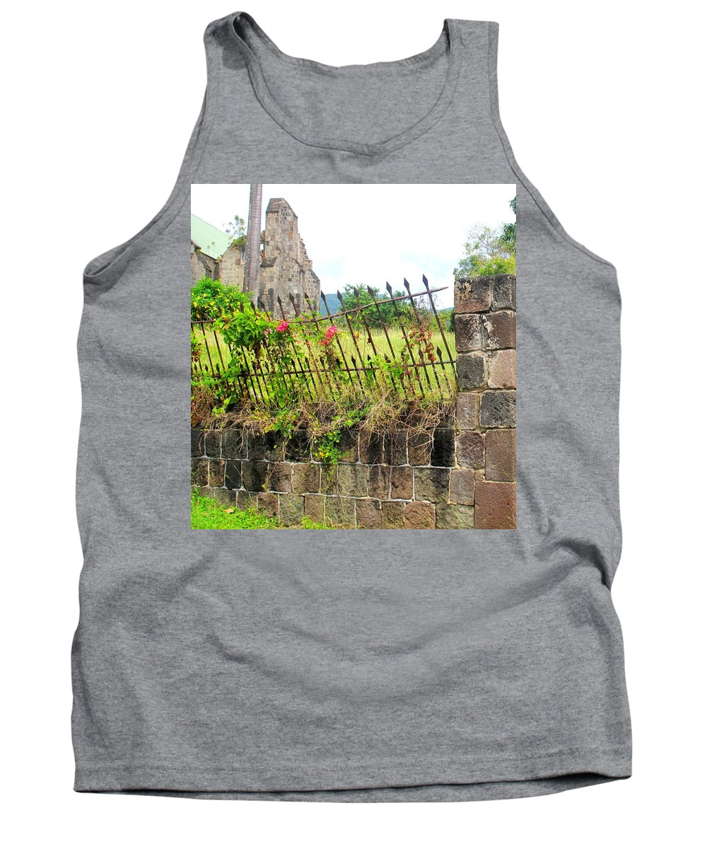 Church Tank Top featuring the photograph Better Days by Ian MacDonald