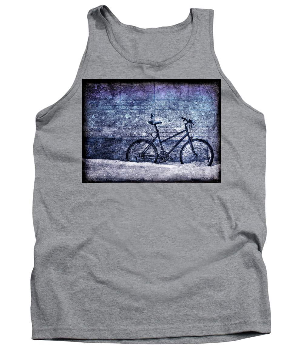 Bicycle Tank Top featuring the photograph Bicycle by Evelina Kremsdorf
