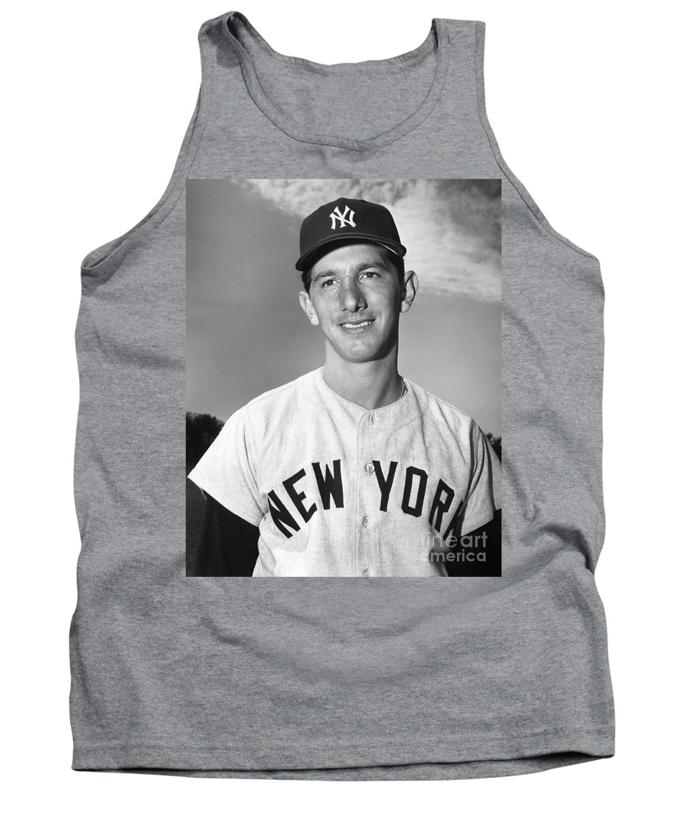 1953 Tank Top featuring the photograph Billy Martin (1928-1989) by Granger
