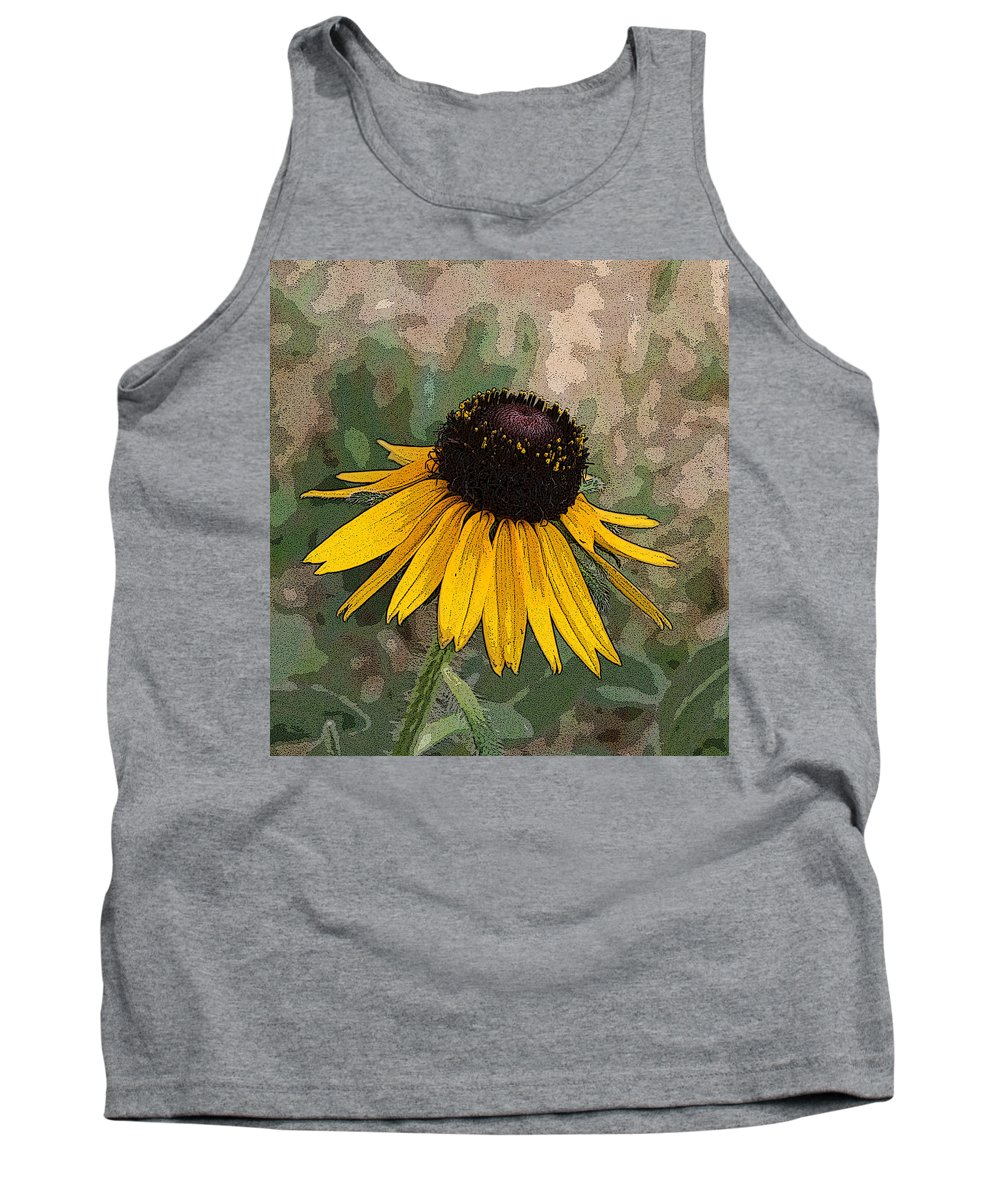 Daisy Tank Top featuring the photograph Black Eyed Susan by Marna Edwards Flavell