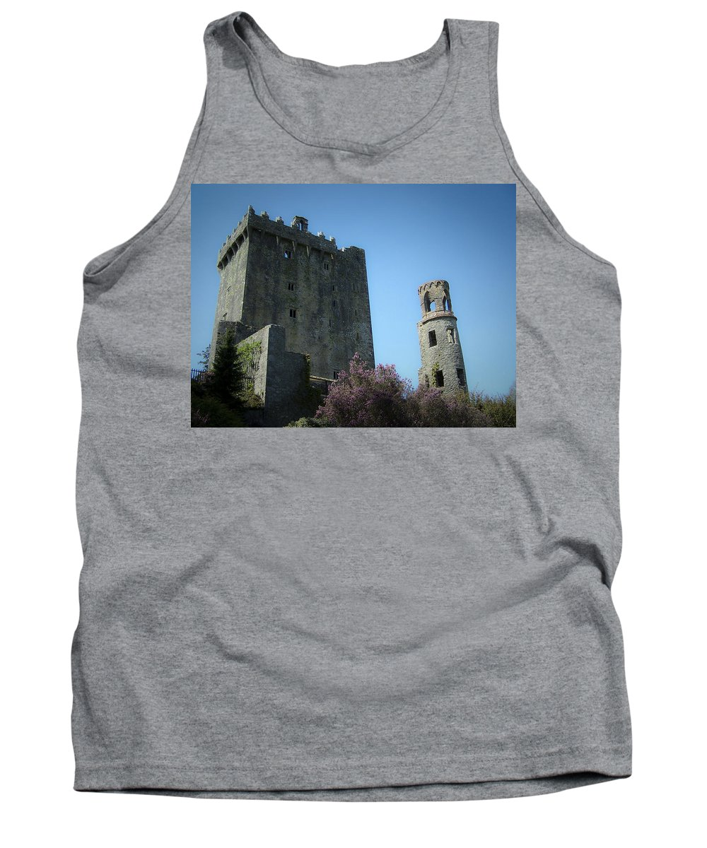 Irish Tank Top featuring the photograph Blarney Castle And Tower County Cork Ireland by Teresa Mucha