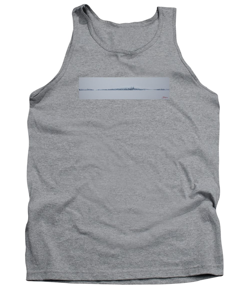 Jack Tank Top featuring the painting Blizzard 2011 by Jack Diamond
