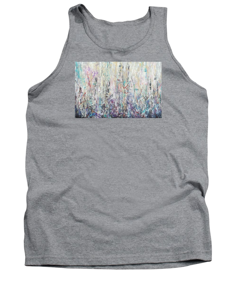 Acrylic Tank Top featuring the painting Blizzard by Debra Wronzberg